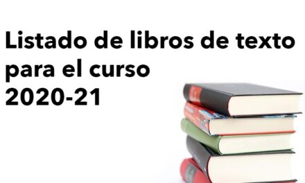 Listado libros de texto